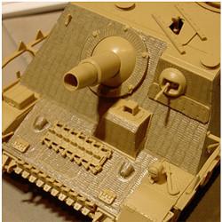 TAMIYA 12673 Zimeritt Coating Sheet for 35353 Brummbar 1:35 Military Model Kit