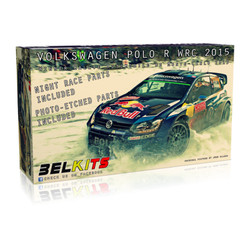 BELKITS VW Polo R WRC 2015 1:24 Car Model Kit BEL010