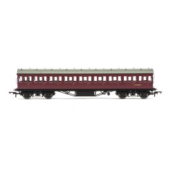 HORNBY Coach R4690 BR (ex LMS) Non-Corridor 3RD Class M 11912 M