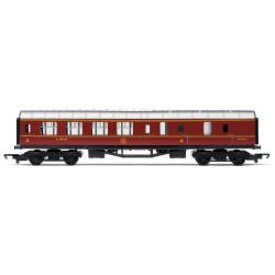 HORNBY Coach R4389 RailRoad LMS Brake - LMS Maroon