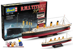 "REVELL Gift-Set ""Titanic"" 2 models 1:700 1:1200 Model Kit - 05727"