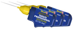 REVELL Contacta Professional 3x Liquid Glue for Plastics - 25g 39604