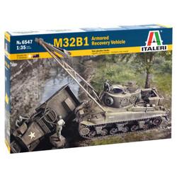 ITALERI M32B1 ARV Armoured Recovery Vehicle 6547 1:35 Military Model Kit