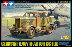 TAMIYA 32593 German Heavy Tractor SS-100 1:48 Military Model Kit