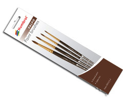 HUMBROL Palpo Brush Pack Sizes 000, 0, 2, 4