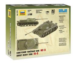 ZVESDA 6194 Soviet Heavy Tank Is-3 1:100 Tank Model Kit