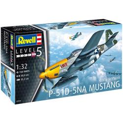 REVELL P-51D-5NA Mustang 1:32 Aircraft Model Kit - 03944