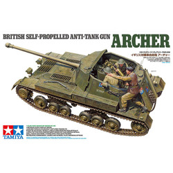 TAMIYA 35356 British Self Propelled Anti Tank Gun Archer 1:35 Military Model Kit