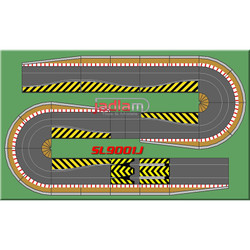 SCALEXTRIC BUNDLE C8514 C8512 Double Hairpin Extension Kit