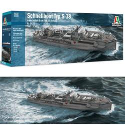 ITALERI Schnellboot S-38  56201:35 Military Boat Model Kit