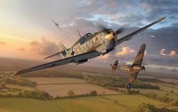 AIRFIX A01008A Messerschmitt Bf109E-4 1:72 Car Model Kit