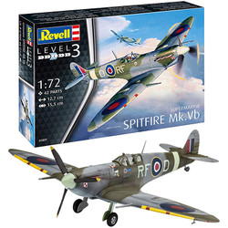 REVELL Spitfire Mk.Vb 1:72 Aircraft Model Kit 03897