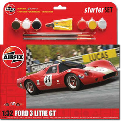 AIRFIX Starter Set Ford 3 Litre GT 1:32 Plastic Model Kit A55308