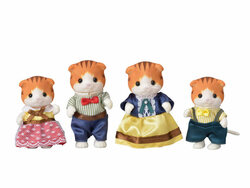 SYLVANIAN Families Maple Cat Family Figures 5290