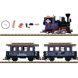 LGB Set Christmas Passenger Set - G Gauge L78305