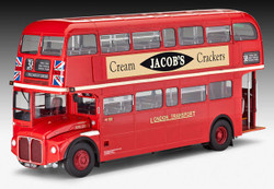 REVELL London Bus Routemaster 1:24 Model Car Kit - 07651