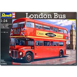 REVELL London Bus Routemaster 1:24 Model Car Kit - 07651
