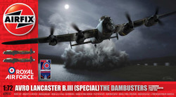 AIRFIX A09007 Avro Lancaster B.III 75th Anniv Dambusters 1:72 Aircraft Model Kit