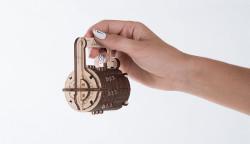 UGEARS Combination Lock - Mechanical Wooden Model Kit 70020