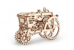 UGEARS Tractor - Mechanical Wooden Model Kit 70003