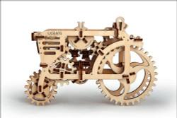 UGEARS Tractor - Mechanical Wooden Model Kit 70003
