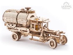UGEARS Tanker Truck - Mechanical Wooden Model Kit 70021