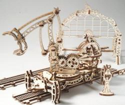 UGEARS Rail Manipulator - Mechanical Wooden Model Kit 70032