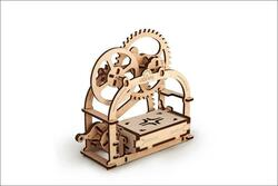 UGEARS Mechanical Box - Mechanical Wooden Model Kit 70001