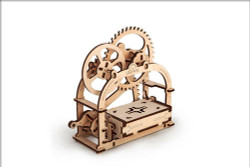 UGEARS Mechanical Box - Mechanical Wooden Model Kit 70001