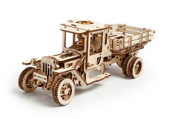 UGEARS Truck UGM-11 - Mechanical Wooden Model Kit 70015