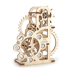 UGEARS Dynamometer Geneva Drive- Mechanical Wooden Model Kit 70005