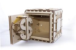 UGEARS Safe - Mechanical Wooden Model Kit 70011