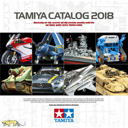TAMIYA 64413 2018 Tamiya Kit Catalogue Model Kit