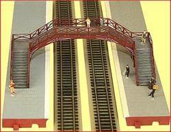 HORNBY Skaledale R8641 Platform Footbridge - OO Gauge Buildings