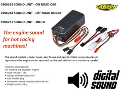 CARSON C906266 Sound Unit for Off Road Buggy 500906266