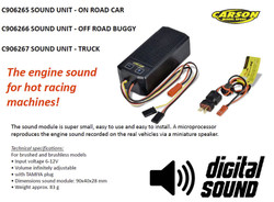 CARSON C906267 Sound Unit for RC Trucks 500906267