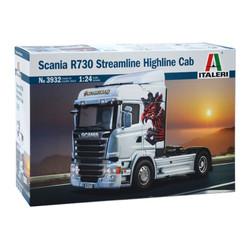 ITALERI 3932 Scania R730 Streamline Highline Cab 1:24 Truck Model Kit