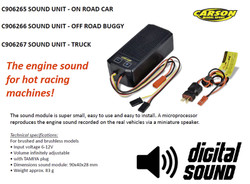 CARSON C906265 Sound Unit for On Road Cars 500906265