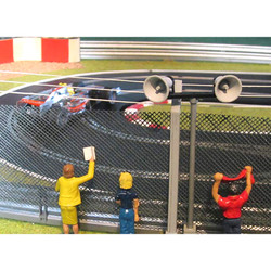 SLOT TRACK SCENICS LS1 4 Loudspeakers  - for Scalextric