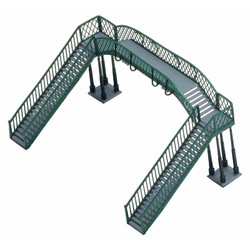 HORNBY R076 Footbridge Kit Twin Tracks