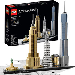 LEGO Architecture 21028 New York City Age 12+ 598pcs