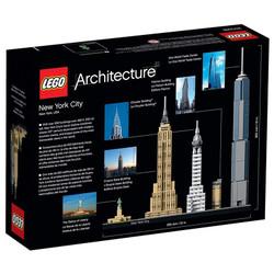 LEGO Architecture 21028 New York City Age 12+ 598pcs
