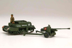 AIRFIX A01309V Bren Gun Carrier & 6 pdr AT Gun - Vintage Classics 1:76 Military Model Kit