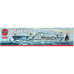 AIRFIX A04208V HMS Ark Royal - Vintage Classics 1:600 Ships Model Kit