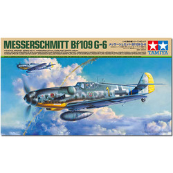 TAMIYA 61117 Messerschmitt BF-109 G6 1:48 Aircraft Model Kit
