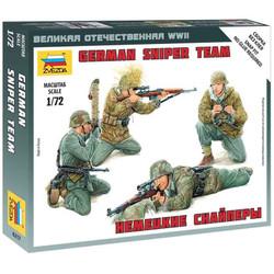 Zvezda 6217 German Sniper Team 1:72 Figures Model Kit