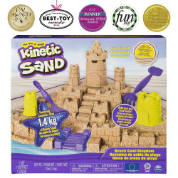 Kinetic Sand - Beach Sand Kingdom - Spin Master 6044143