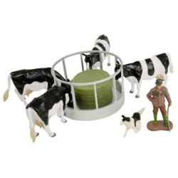 BRITAINS Cattle Feeder Set 1:32 Farm Toy 43137A1