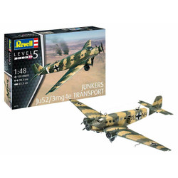 REVELL Junkers Ju52/3m Transport 1:48 Aircraft Model Kit 03918