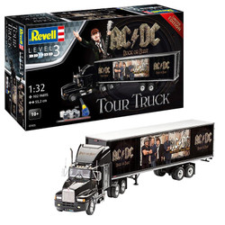 "REVELL Gift Set Truck & Trailer ""AC/DC"" 1:32 Model Kit 07453"